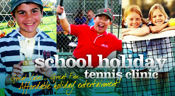 School Holiday Tennis Clinic